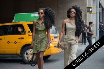 tk quann in Fashion Week Street Style: Day 3