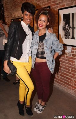 nathalie emmanuel in PROJECT Gallery Presents 50 Years of The Rolling Stones: A Rock and Roll Retrospective