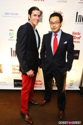 marvin kim in Attica's Little Red Dress Event