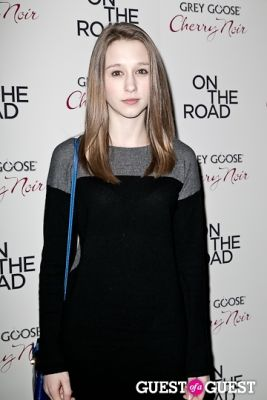 taissa farmiga in NY Premiere of ON THE ROAD