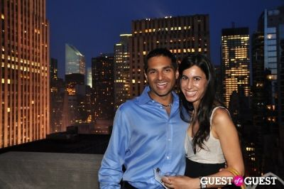 adam lerner in AFTAM Young Patron's Rooftop SOIREE