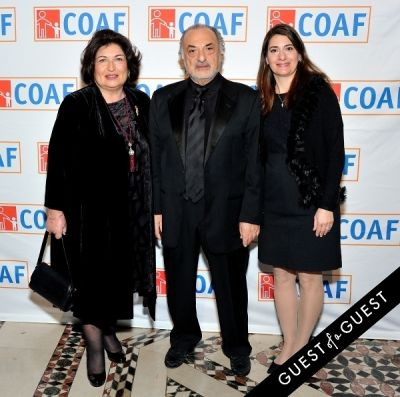 tamar kaysarian in COAF 12th Annual Holiday Gala