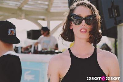 tamara barkley in Coachella: LACOSTE Desert Pool Party 2014
