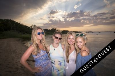polina dolganovskaya in GUEST OF A GUEST x DOLCE & GABBANA Light Blue Mediterranean Escape In Montauk