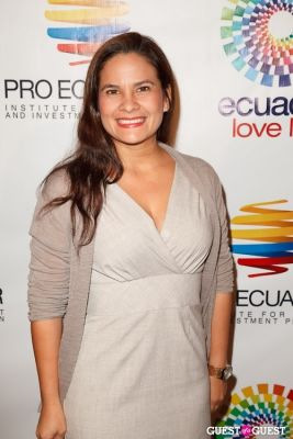 tanya velaquez in ProEcuador Los Angeles Hosts Business Matchmaking USA-Ecuador 2013