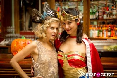 tara subkoff in Mara Hoffman & Pamela Love celebrate Halloween