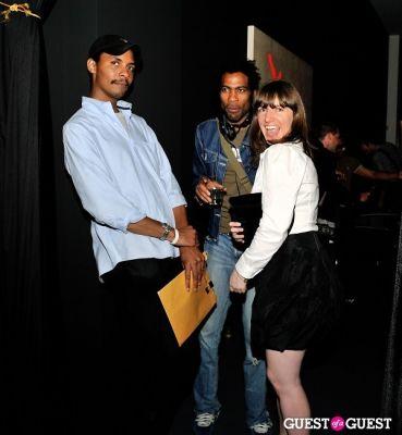tariq abdus-sabur in FLATT Magazine Closing Party for Ryan McGinness at Charles Bank Gallery
