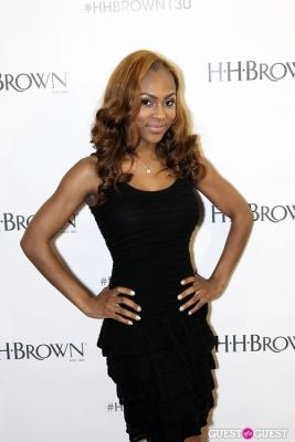 tashiana washington in H.H. Brown Shoe Company's 130th Anniversary Party