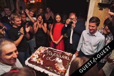 tatiana brunetti in Mari Vanna LA One-Year Anniversary Party