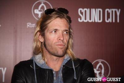 taylor hawkins in Sound City Los Angeles Premiere