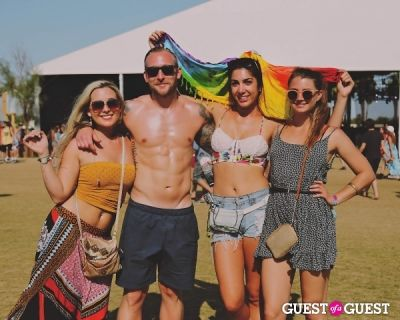 aryana azmoudeh in Coachella 2014 Weekend 2 - Sunday