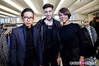 techan in BOYY SS14 Launch at Bergdorf's