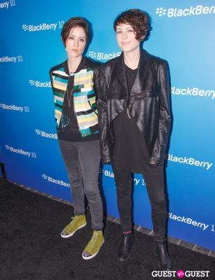 tegan and-sara in BlackBerry Z10 Launch