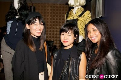 teresa hu in LA CANVAS Presents The Fashion Issue Release