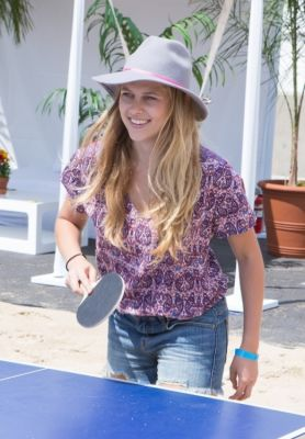 teresa palmer in Just Jared's Summer Kick-Off Party Presented By McDonald's