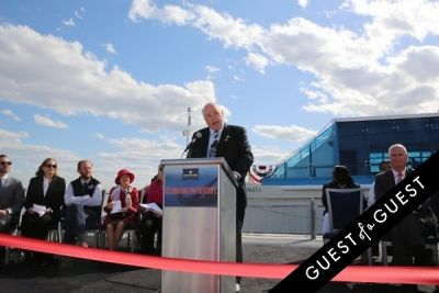 terry macrae in Hornblower Re-Dedication & Christening at South Seaport's Pier 15