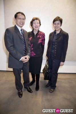 thai consul-general-pipiya-khempon in Pinaree Sanpitak Opening at Tyler Rollins Fine Art