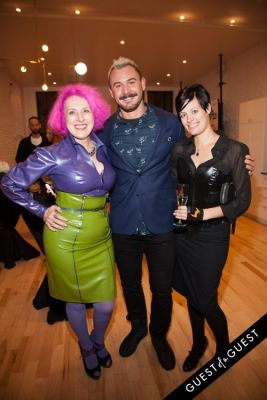 alexis percival in The Ammon Carver Salon & Studio Opening
