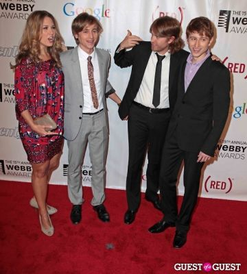 the gregory-brothers in The 15th Annual Webby Awards