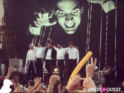 the hives in Coachella Weekend One Festival & Atmosphere