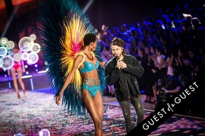 the weeknd in Victoria's Secret Fashion Show 2015