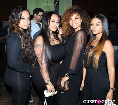 the westbrooks in Bedloo LA Launch Party