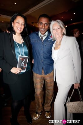 marcus samuelsson in Harlem Jazz Night