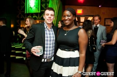 theodore stiger in Hot 100 Party @ Capitale