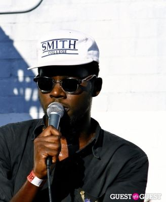theophilus london in Mad Decent Block Party.