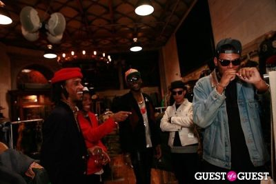 theophilus london in Ronnie Fieg's Flagship Store Launch