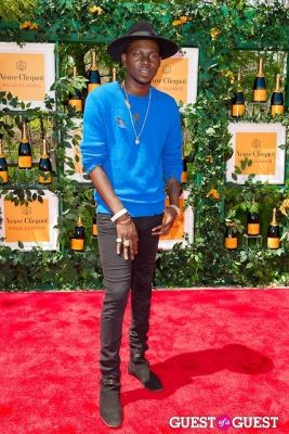 theophilus london in Veuve Clicquot Polo Classic 2013