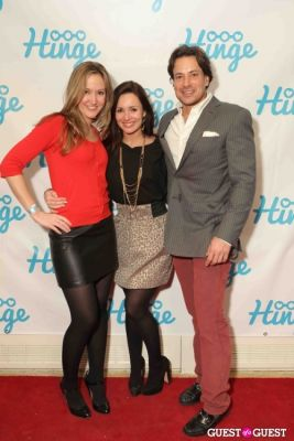 theresa phillippe in Arrivals -- Hinge: The Launch Party
