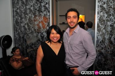 therese quiao in Nival Salon and Spa Launch Party