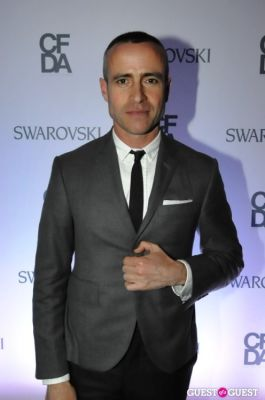 thom browne in Swarovski Pre-CDFA Awards Party