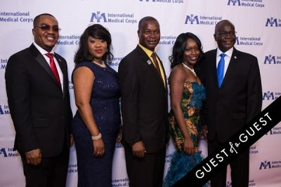 aaron sonah in International Medical Corps Gala