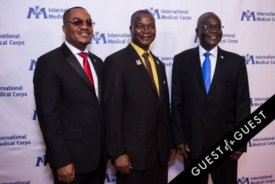 jeremiah sulunteh in International Medical Corps Gala