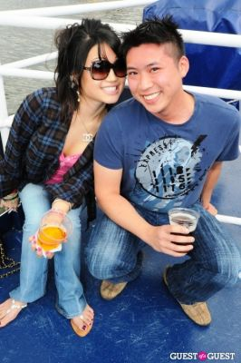 tiffany ding in New York's 1st Annual Oktoberfest on the Hudson hosted by World Yacht & Pier 81