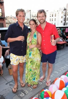 scott peterman in Bonobos Swimtrunk Launch