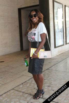 tiffany reid in NYFW Style From the Tents: Street Style Day 1