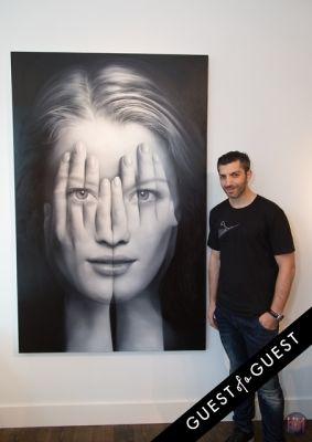 tigran tsitoghdzyan in Gallery Valentine, Mas Creative And Beach Magazine Present The Art Southampton Preview
