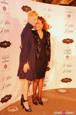 tilda swinton in NY Premiere of I AM LOVE