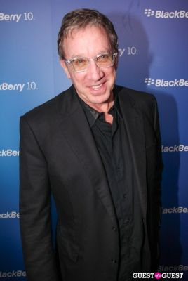 tim allen in BlackBerry Z10 Launch