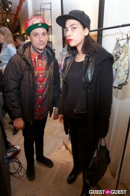 claudia lake in Scotch & Soda Launch Party