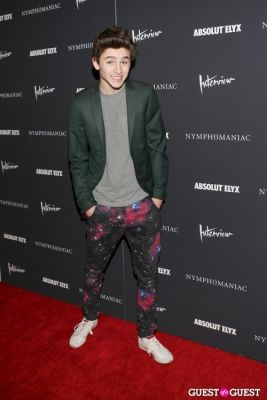 timothee chalamet in New York Premiere of Magnolia Pictures' Nymphomaniac:Volume One