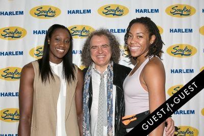 tina charles in Serafina Harlem Opening