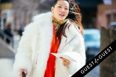 tina leung in NYFW Street Style Day 4