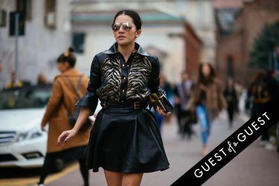 tina leung in Milan Fashion Week PT 2