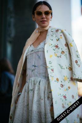 tina leung in Paris Fashion Week Pt 1