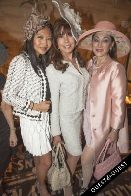 lucia hwong-gordon in Socialite Michelle-Marie Heinemann hosts 6th annual Bellini and Bloody Mary Hat Party sponsored by Old Fashioned Mom Magazine