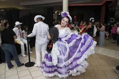 tina tovar in The Shops at Montebello Hispanic Heritage Month Event